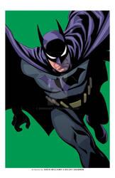 Batman exclusive print-GREEN