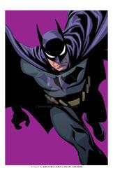 Batman exclusive print-PURPLE
