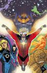 Fantastic 4 covers 2