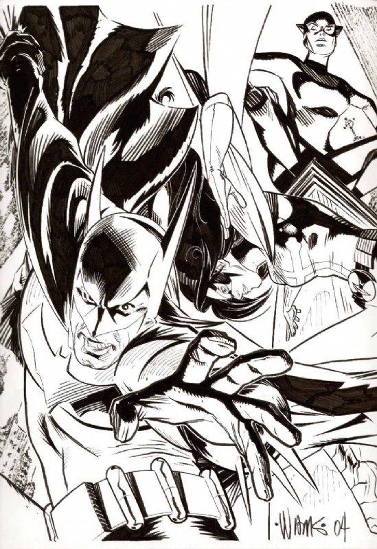 Bat Family by BroHawk