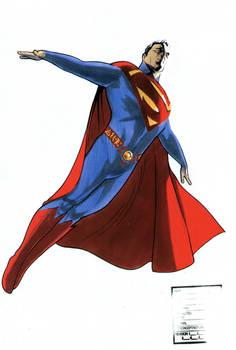 Superman Movie Suit color
