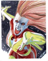 Con sketch The Phoenix by BroHawk