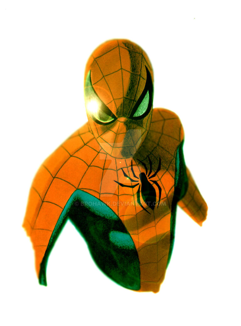 Another Spidey drawing by BroHawk