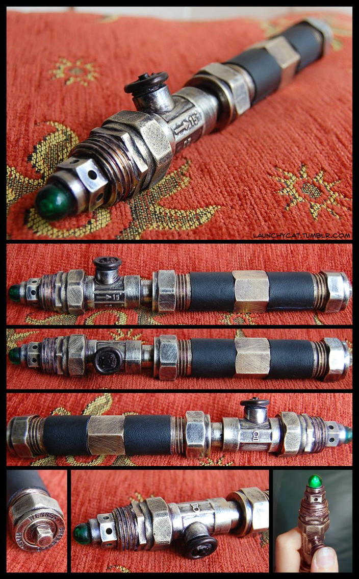Steampunk Screwdriver Mark II by Launchycat