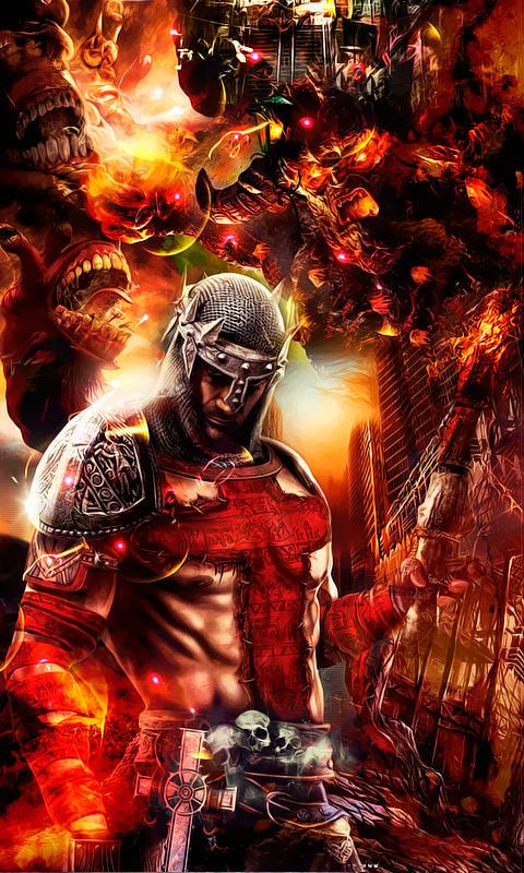 Wallpaper Para Celular Dantes Inferno By Tokera On Deviantart