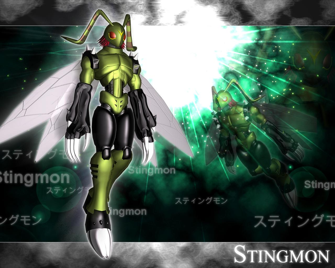 digimon stingmon - photo #32