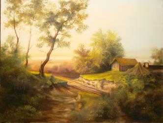 Summer Landscape by JOSIPCSOOR