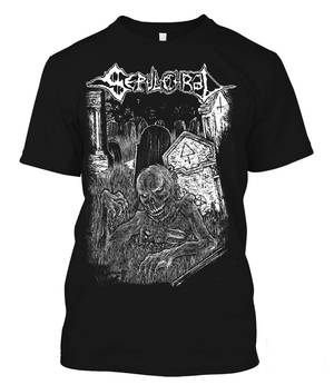 Sepulchral shirt 2017 at Great Dane Records