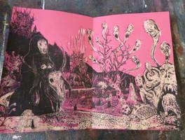 2018 ALKXVIII Silkscreen Handmade Book