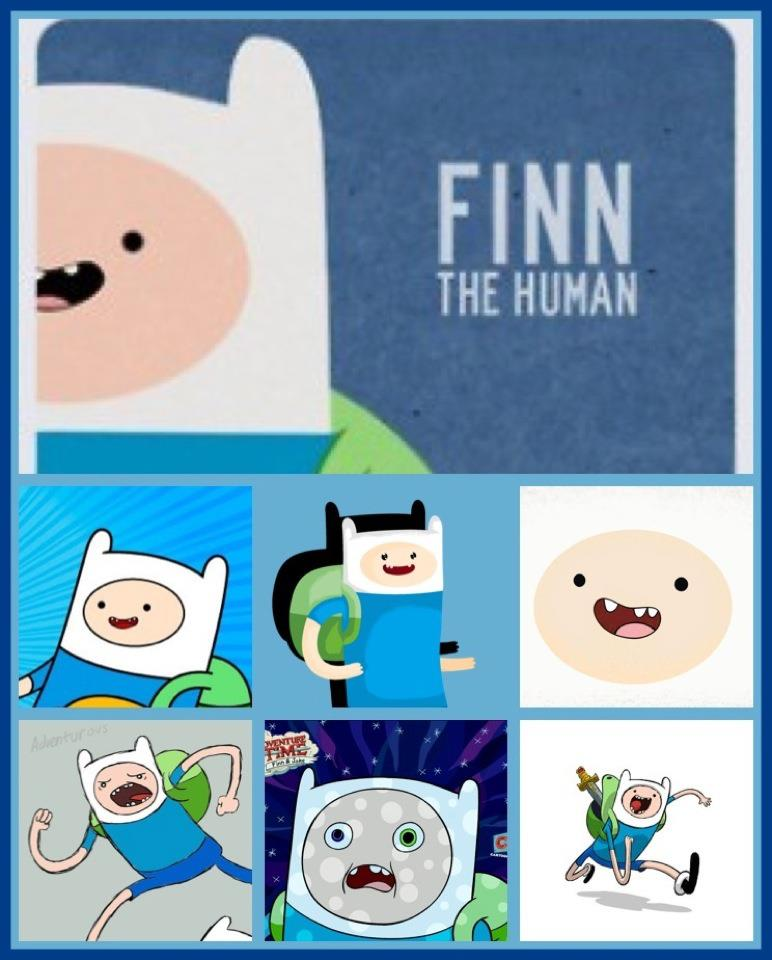 Finn the human Fanart collage by voltar517