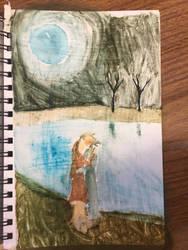 Moonlit Kiss