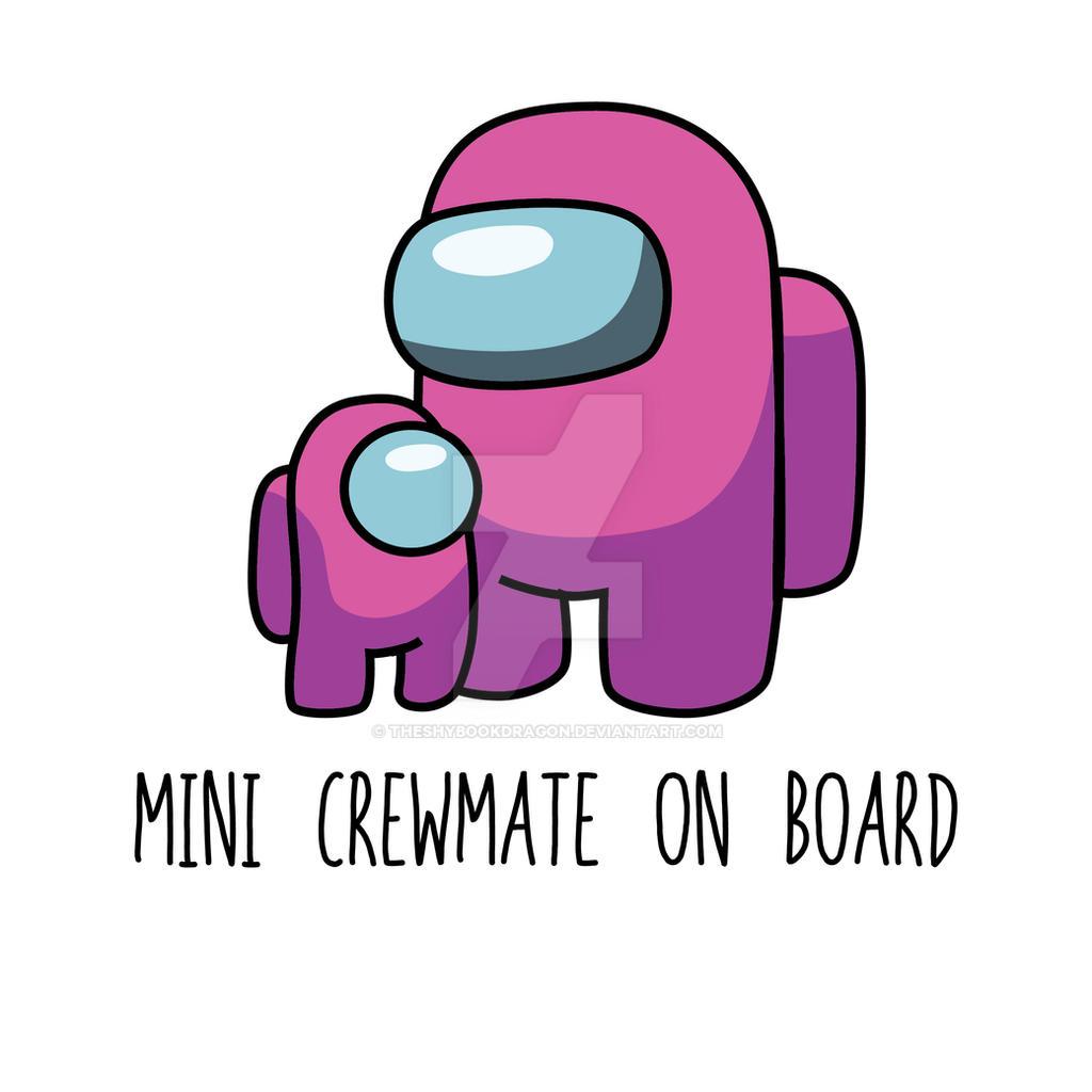 Among Us Mini Crewmate on Board