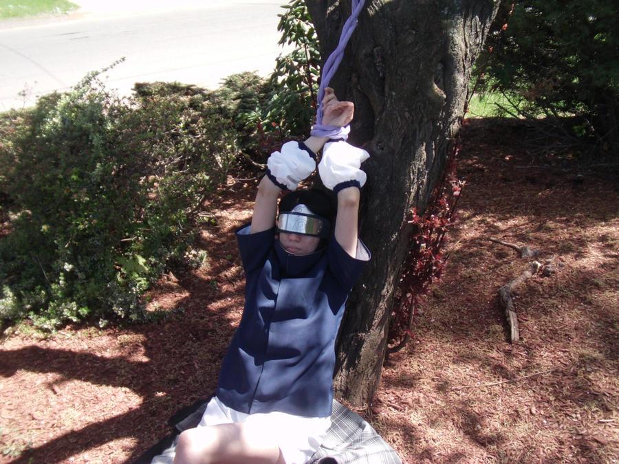 Sasuke Tied Up by Shippudenpro28
