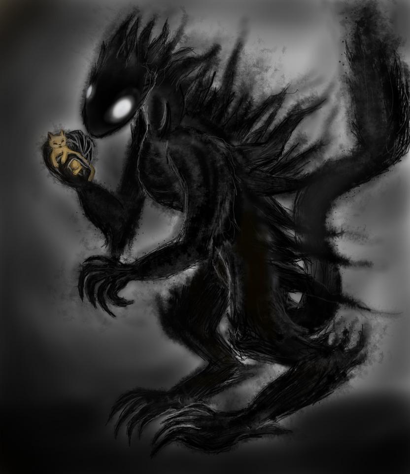 Friendly Shadow Creature by JiffyOwl on DeviantArt  Friendly Shadow...
