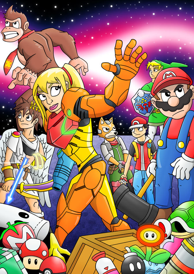 Smash Bros Assemble