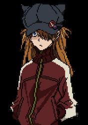 Asuka Rebuild 3.0 - Pixel (2nd version) by Deznak