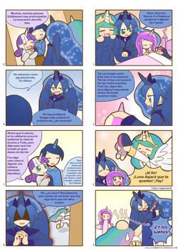 Humanized Pony Comic Part 07-08 (Spanish)