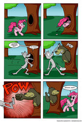 Pink It's What's for Dinner Part 10 (Spanish) by Raimundo1941