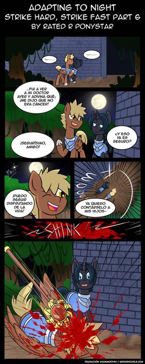 Adapting to the Night Chapter 28 Part 06 (Spanish)