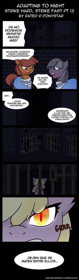 Adapting to the Night Chapter 28 Part 13 (Spanish)