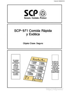 SCP OS Ch.049 SCP-971 Part 01 (Spanish)