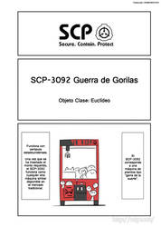 SCP OS Ch.050 SCP-3092 Part 01 (Spanish)