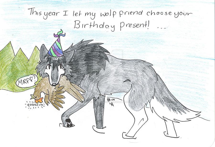 My Dads Birthday Card By Wolfclawalchemist On Deviantart