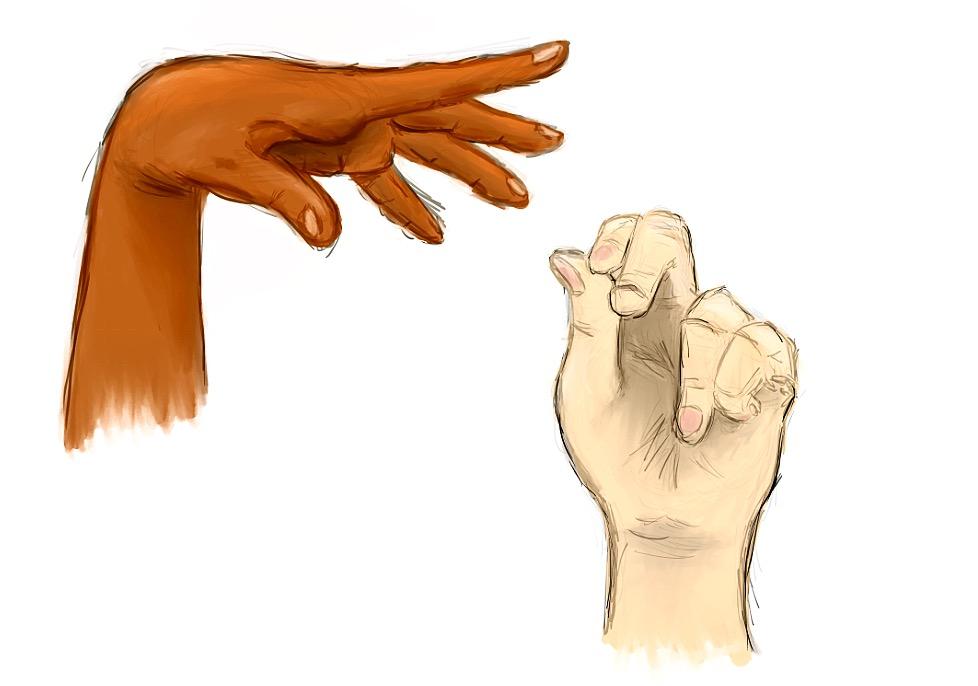 Hand Practice by Sketch-n-Screech