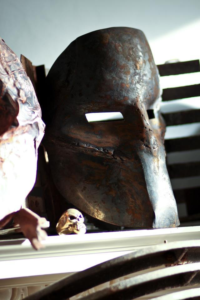 Steel Death Race Frankenstein Mask By Fallout6bazaar On Deviantart