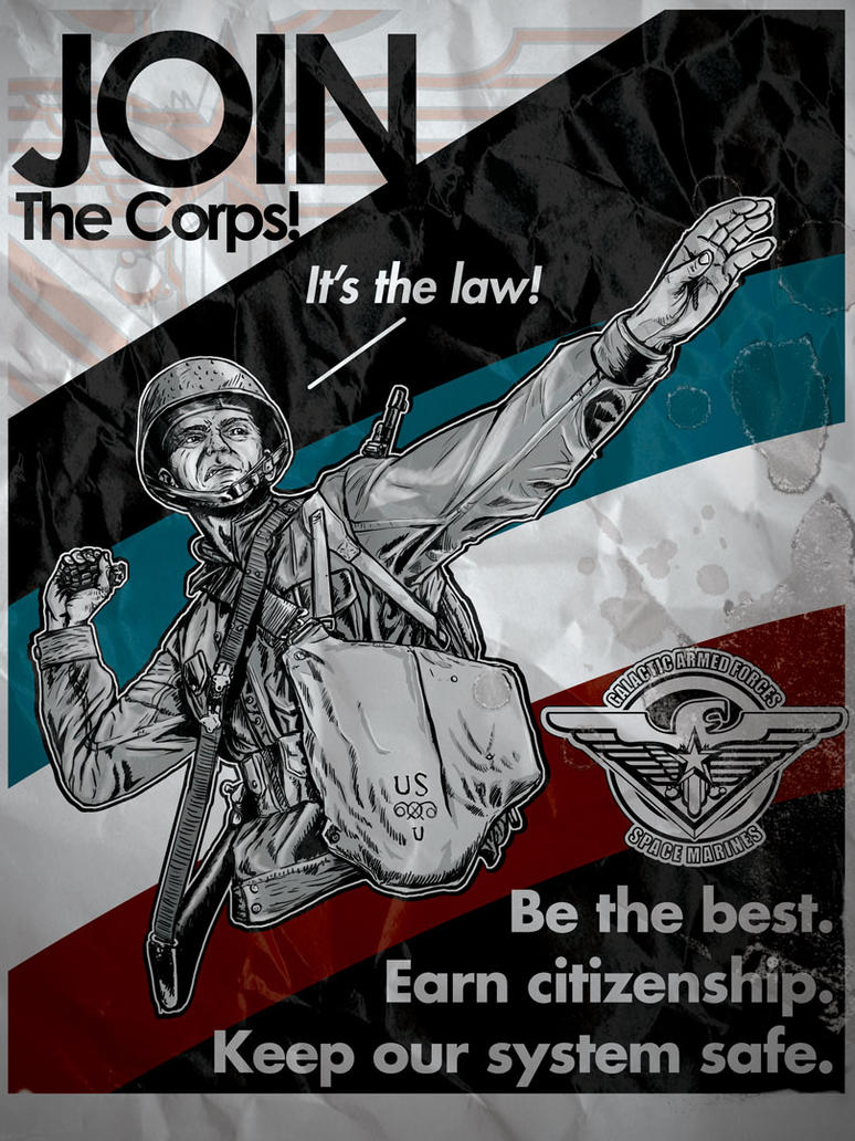 Join the Corps by keoku216