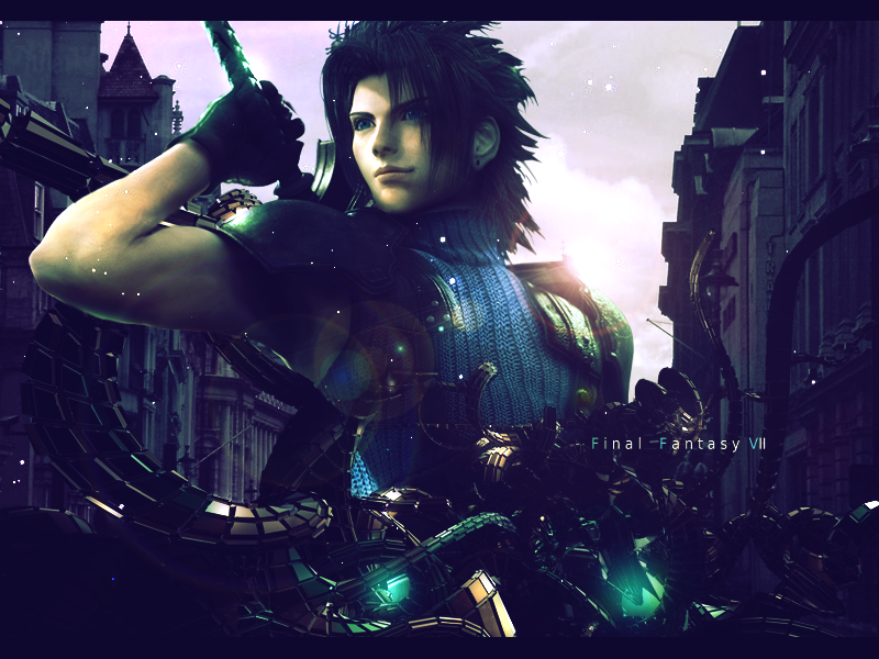 Zack Final Fantasy VII by Garcho