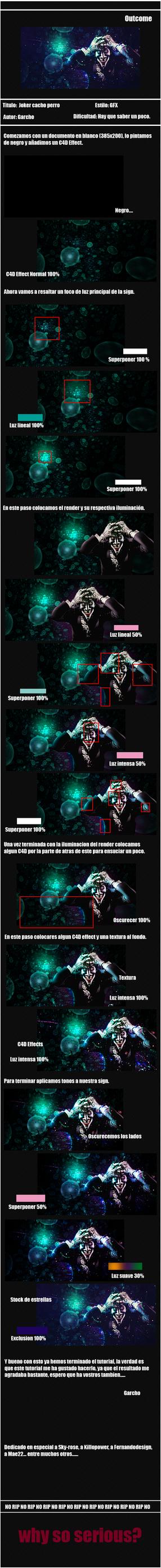 Joker cacho perro by Garcho