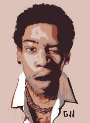 Wiz Khalifa by Garcho