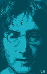 John Lennon by Garcho