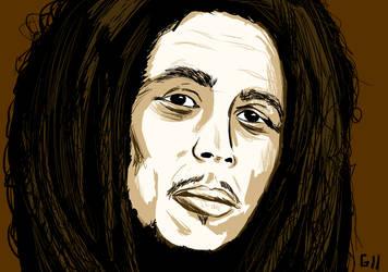 Bob Marley by Garcho