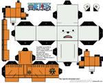 Bepo One Piece - Cubeecraft