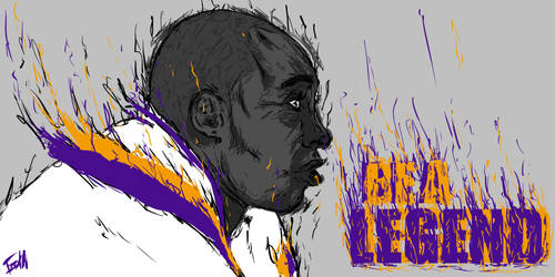 BE A LEGEND by Garcho