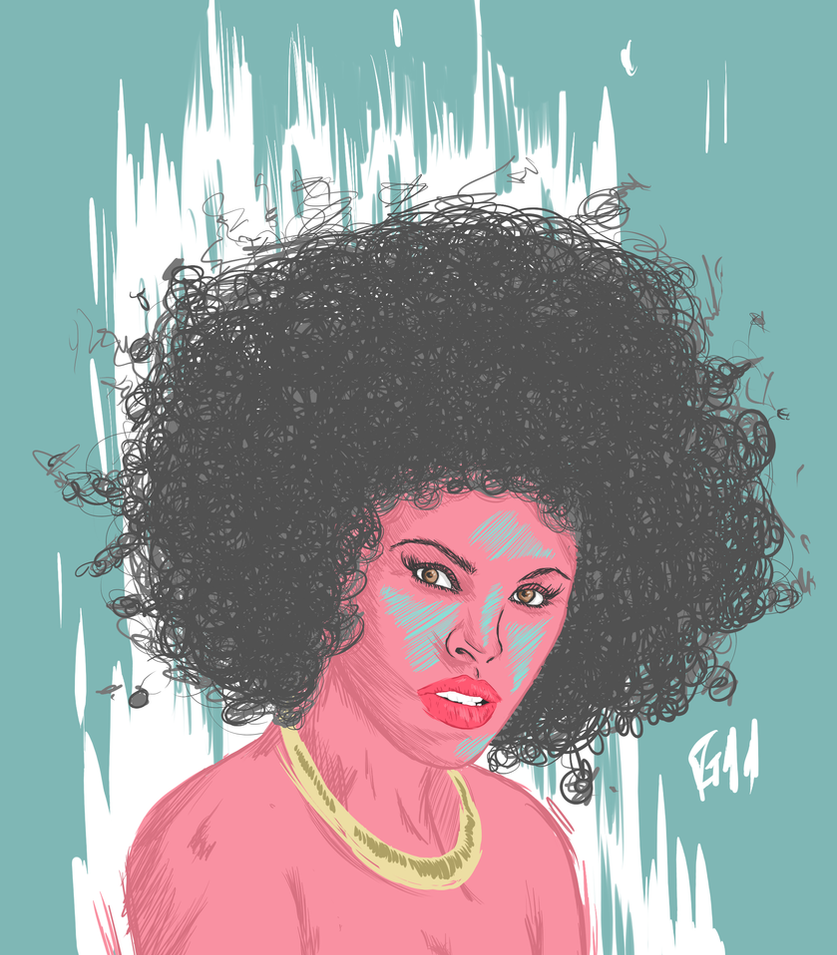 The AFRO Power by Garcho