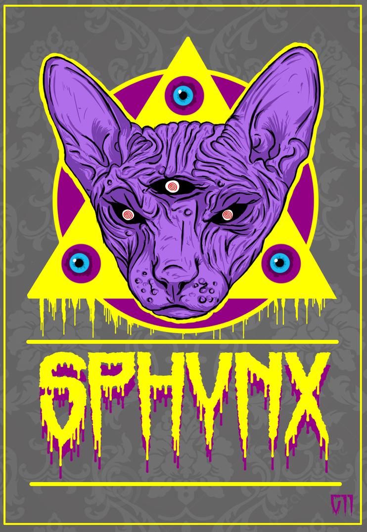 Sphynx Power by Garcho