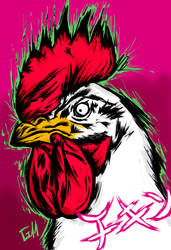 Happy Chicken Year!!! by Garcho