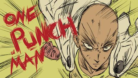 Saitama - One Punch Man by Garcho