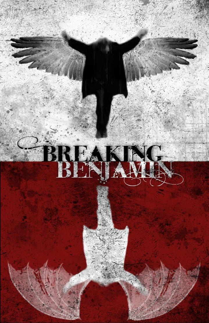 Breaking Benjamin Poster By RoseTylerObsessed