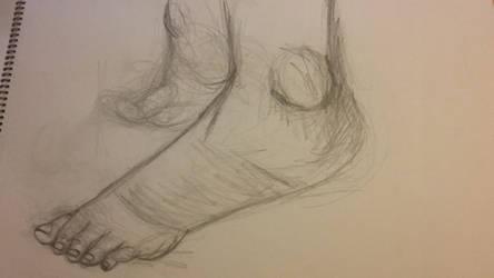 Feet Practice by ILoveKimPossibleAlot
