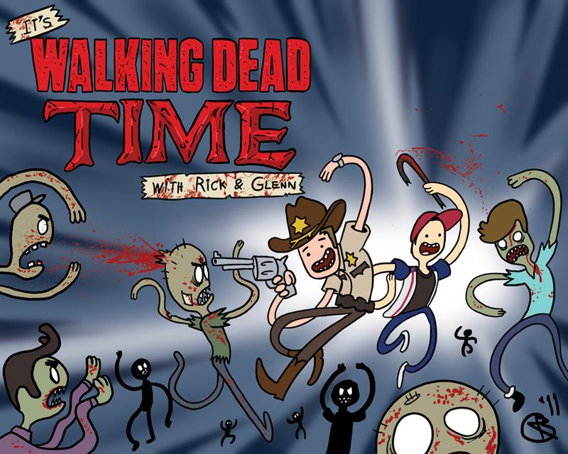 It's Walking Dead Time by RobertMakes