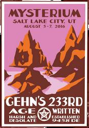 Mysterium 2016 - Gehn's 233rd Age
