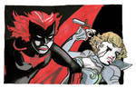 Batwoman and Alice