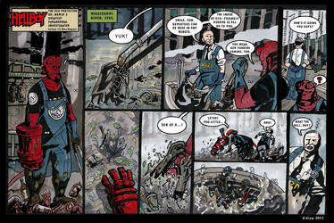 Hellboy - The Eco protector p1 by didism