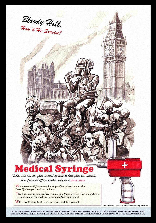 Killing floor - Medical syringe by didism