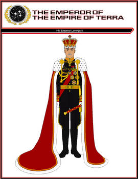 The Emperor of the Empire of Terra, HIM Lorenzo II