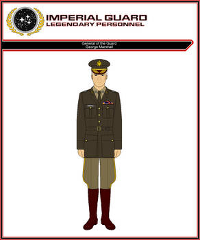 General of the Guard George Marshall